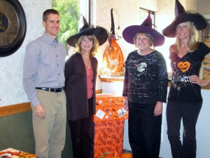 Halloween Photo of Staff